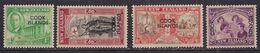 Cook Islands 1946 KGV1 Set Peace Stamps Umm SG 146 – 149 ( C282 ) - Cook Islands