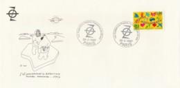 Env. Illustrée Paul-Emile Victor - 50e An. Expéditions Polaires Françaises Oblit. Paris /28-02-1997 - French Southern And Antarctic Territories (TAAF)