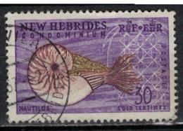 NOUVELLES HEBRIDES               N°  YVERT  208  OBLITERE       ( Ob   1 / 32 ) - Leyenda Inglesa
