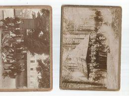 2 Cartes Photos De 1898 Des Vosges - Other Municipalities