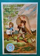 Calendrier 1883 - Chromo Vander Smissen Frères - Kalender