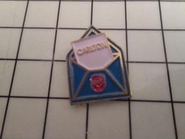 415a Pin's Pins / Rare & Belle Qualité !!! THEME : MARQUES / ENVELOPPE CARTE DE VISITE CARLTON - Marques