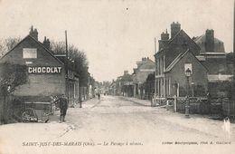 60 Saint Just Des Marais Beauvais Le Passage à Niveau - Beauvais