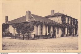 AVIT18-  CABANAC VILLAGRAINS  EN GIRONDE  DOMAINE DE BERNIN   CPA  CIRCULEE - Unclassified