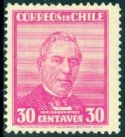 CHILE 1934 30c JOSE JOAQUIN PEREZ** (MNH) - Chile