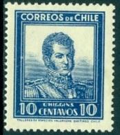 CHILE 1932 10c O'HIGGINS* (MH) - Chile