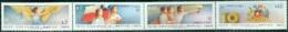 CHILE 1983 LIBERATION ANNIVERSARY STRIP OF 4** (MNH) - Chili