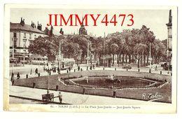 CPA - TOURS En 1938 - La Place Jean Jaurès ( Bien Animée ) 37 Indre Et Loire - Edit. R. Talon N° 62 - Scans Recto-Verso - Tours