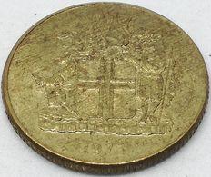 Moneda 1973. 1 Krona. Islandia. KM 12a. MBC - Islande