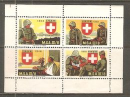 Bloc De Quatre 1940 ( Soldat ) - Posta Militare