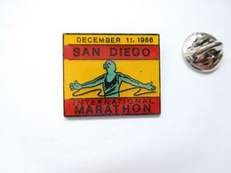 Beau Pin's , Athlétisme , Course à Pied , Marathon International De San Diego - Athlétisme