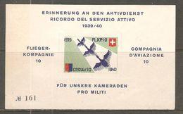 Bloc De 1939 / 1940 ( Soldat / Neuf** ) - Poste Militaire