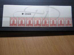 VEND BEAUX TIMBRES DU MAROC N° 213 EN BANDE DE 8 + BDF , XX !!! - Morocco (1891-1956)