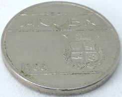 Moneda 1988. 25 Céntimos. Aruba. KM 3. MBC - [ 4] Colonies