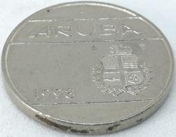 Moneda 1998. 25 Céntimos. Aruba. KM 3. MBC - [ 4] Colonies