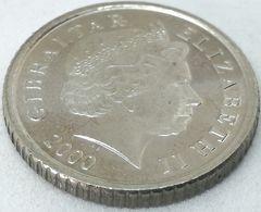 Moneda 2000. 5 Pence. Gibraltar. KM 775. MBC - Gibilterra