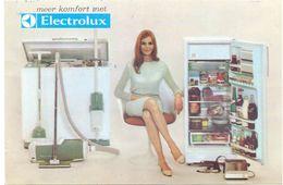 Pub Reclame - Electrische Toestellen Electrolux - René Van Loo - Oostende - Advertising