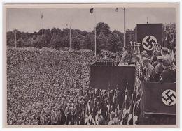 """DT- Reich (000357) Propaganda Sammelbild Deutschland Erwacht"""""""" Bild 153, SA Aufmarsch In Dortmund 1933 - Germania"""