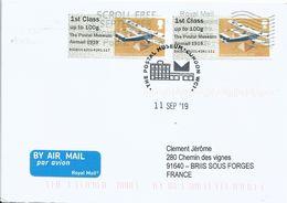 Vignette D'affranchissement IAR - ATM - Post & Go - Poste Aérienne - Avion Handley Page - Airplanes