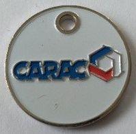 Jeton De Caddie - CARAC - Mutuelle Epargne Retraite Prévoyance - En Métal - - Jetons De Caddies