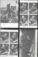LOTTO QUATTRO CARTOLINE FORMATO RIDOTTO RIPRODUZIONE FOTO DI MUSSOLINI - TIP. BOTTAZZI PREDAPPIO - NUOVE - Hommes Politiques & Militaires