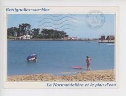 Brétignolles Sur Mer : La Normandelière Et Le Plan D'eau - Bretignolles Sur Mer