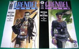 GRENDEL TALES - DEVILS AND DEATHS # 1-2 - DARK HORSE COMICS (1994) - Livres, BD, Revues