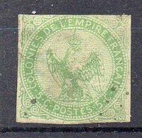 COLONIES ( POSTE ) : Y&T  N°  2  TIMBRE  BIEN  OBLITERE, A  SAISIR . R 7 - Águila Imperial