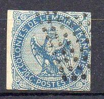 COLONIES ( POSTE ) : Y&T  N°  4  TIMBRE  BIEN  OBLITERE, A  SAISIR . R 7 - Águila Imperial