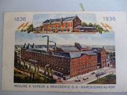 Marchienne Au Pont  Moulin A Vapeur Brasserie - Belgique