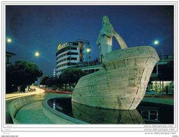 ABANO  TERME (PD):  MONUMENTO  A  C. COLOMBO  -  NOTTURNO  -  PER  LA  SVIZZERA  -  FG - Monumentos