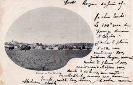 CPA   34   ROUJAN----VUE GENERALE---1905 - Altri Comuni