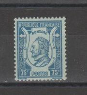 FRANCE / 1924 / Y&T N° 209 ** : Pierre De Ronsard X 1 - Unused Stamps
