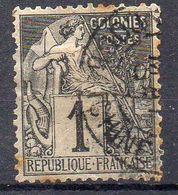COLONIES ( POSTE ) : Y&T  N°  46  TIMBRE  BIEN  OBLITERE , A  SAISIR . R 7 - Alphee Dubois