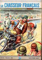 Course Vélo Demi Fond Sur Le Chasseur Français N: 741 De Novembre 1958 -  Illustration De  Paul Ordner - Sport