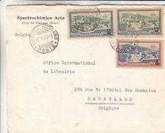 Vatican - Lettre De 1948 ° - Oblit Citta Del Vaticano - Exp Vers Bruxelles - Chimie - Vatican