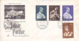 Vatican - Lettre De 1964 - Oblit Citta Del Vaticano - Pape - Vatican