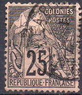 COLONIES ( POSTE ) : Y&T  N°  54  TIMBRE  BIEN  OBLITERE , A  SAISIR . R 7 - Alphee Dubois