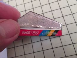 415c Pin's Pins / Rare & Belle Qualité !!! THEME : JEUX OLYMPIQUES / LONDRES 2012 LONDON BASKET-BALL ARENA COCA-COLA - Olympic Games