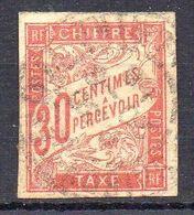 COLONIES ( TAXE ) : Y&T  N°  22  TIMBRE  BIEN  OBLITERE , A  SAISIR . R 7 - Impuestos