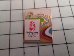 415c Pin's Pins / Rare & Belle Qualité !!! THEME : JEUX OLYMPIQUES / PEKIN 2008 BEIJING GRANDE MURAILLE DE CHINE - Olympic Games