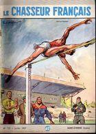 Saut En Hauteur Sur Le Chasseur Français N: 725 De Juillet 1957 -  Illustration De  Paul Ordner - Sport