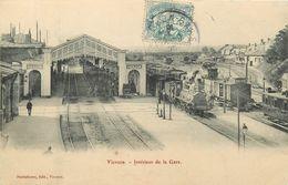 18 VIERZON - Interieur De La Gare - Vierzon