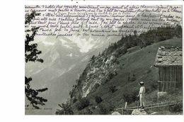 CPA-Carte Postale France- La Pointe Percée Vue Du Chemin Du Lac De Flaine -1913-VM18391 - Unclassified