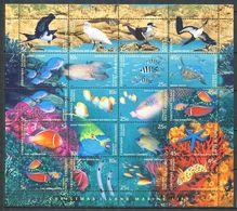 264 - CHRISTMAS (iles) 1998 - Yvert 445/64 - Oiseau Poisson Fond Marin - Neuf ** (MNH) Sans Trace De Charniere - Christmas Island