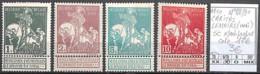 NB - [846708]TB//*/Mh-c:17e-Belgique 1910 - N° 88/91, CARITAS LEMAIRE (UNI) SC */mh Propre - 1910-1911 Caritas