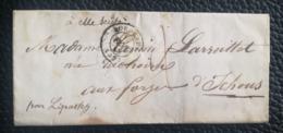 LETTRE 1849 - BORDEAUX Pour YCHOUX Par LIPOSTHEY - Marcofilie (Brieven)