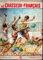 Volley Ball Sur Le Chasseur Français N: 714 De Aout 1956 -  Illustration De  Paul Ordner - Sport