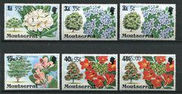 264 - MONTSERRAT 1980 - Yvert 436/41 Surcharge - Fleur Arbre - Neuf ** (MNH) Sans Trace De Charniere - Montserrat