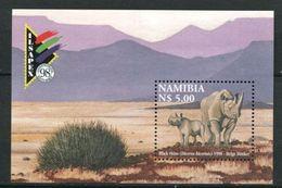 264 - NAMIBIE 1998 - Yvert BF 52 - Rhinoceros - Neuf ** (MNH) Sans Trace De Charniere - Namibie (1990- ...)